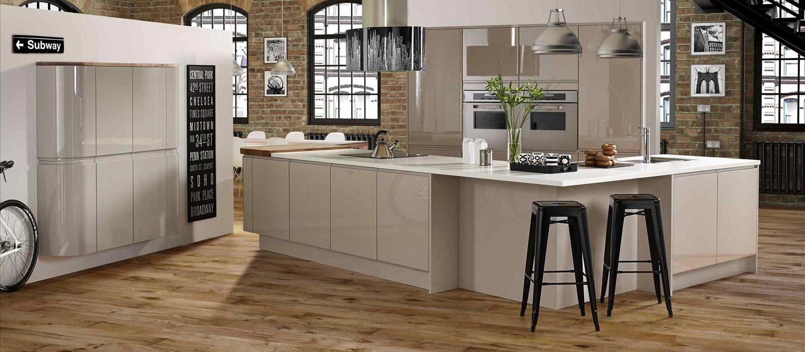 10 Beautiful Kitchens With Wooden Floors